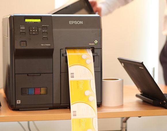 Predstavljanje EPSON ColorWorks štampača