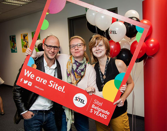SITEL - five years of business in Serbia