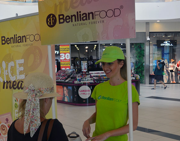 Benlianfoods promotion