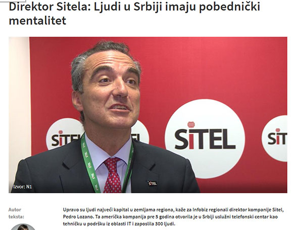 5 years of SITEL in Serbia - The Interviews